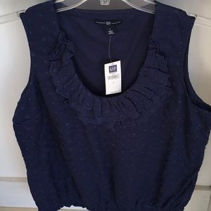Gap summer top never worn with tags